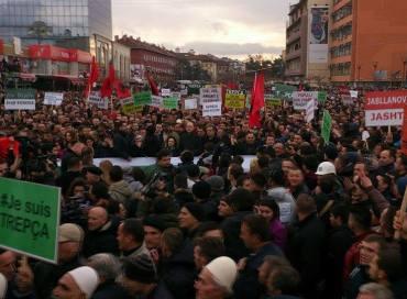 protesta ne prishtine