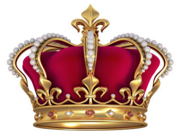 Seit wann tragen Koenige Kronen